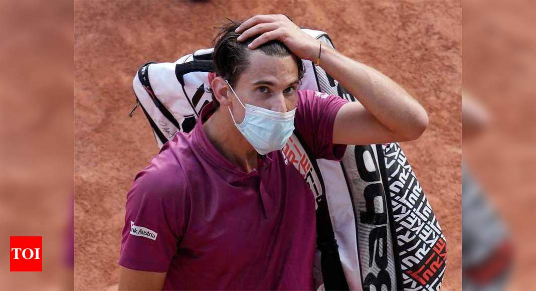 Thiem knocked out by Andujar in French Open first round | Tennis News – Times of India