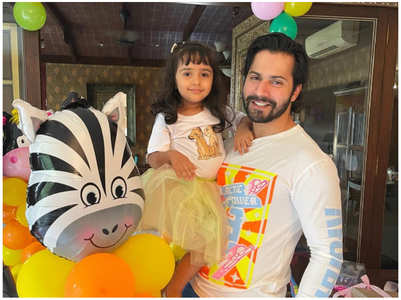 Varun Dhawan shares a pic with his niece