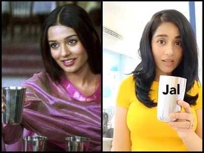 Amrita recreates her viral Jal Lijiye scene