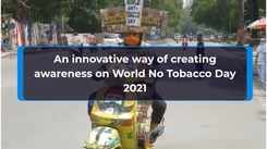 An innovative way of creating awareness on World No Tobacco Day 2021