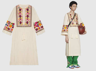 Gucci is selling kaftans inspired by our desi kurtas