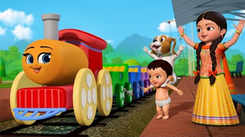 Nursery Rhymes in Telugu: Children Video Song in Telugu 'Railu Railu Railu, Idi Chikku Bukku Railu'