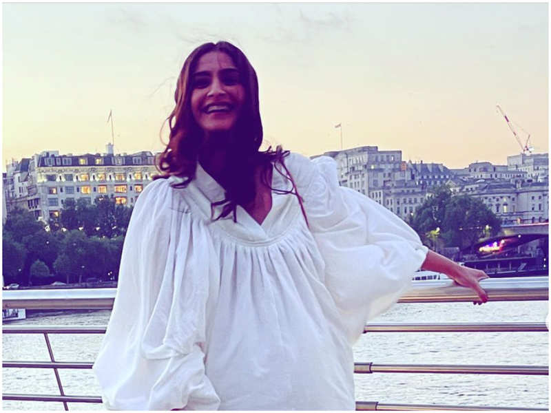 Sonam Kapoor is a bundle of happiness in white