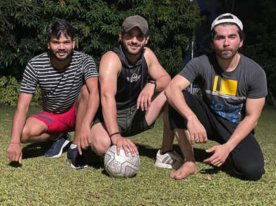 Jeevansh Chadha: Post pack up is football time