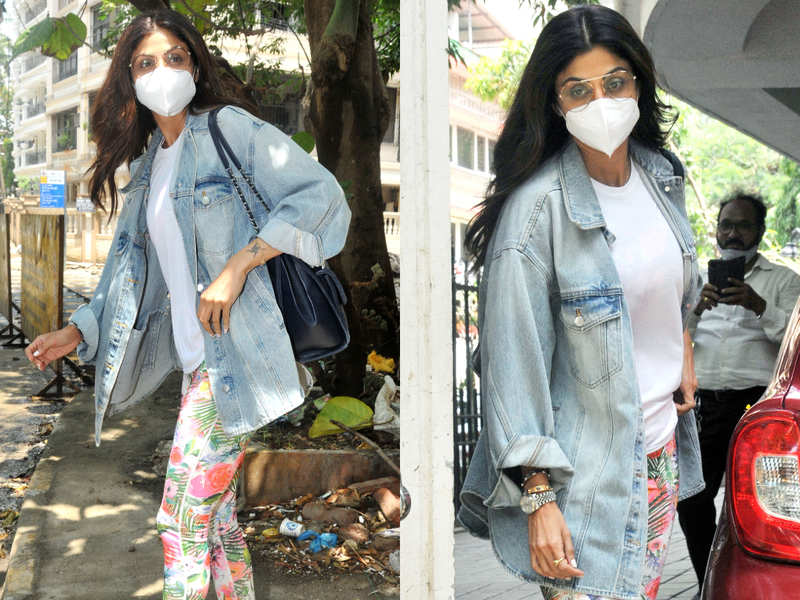 Shilpa Shetty has got the coolest street style look ever