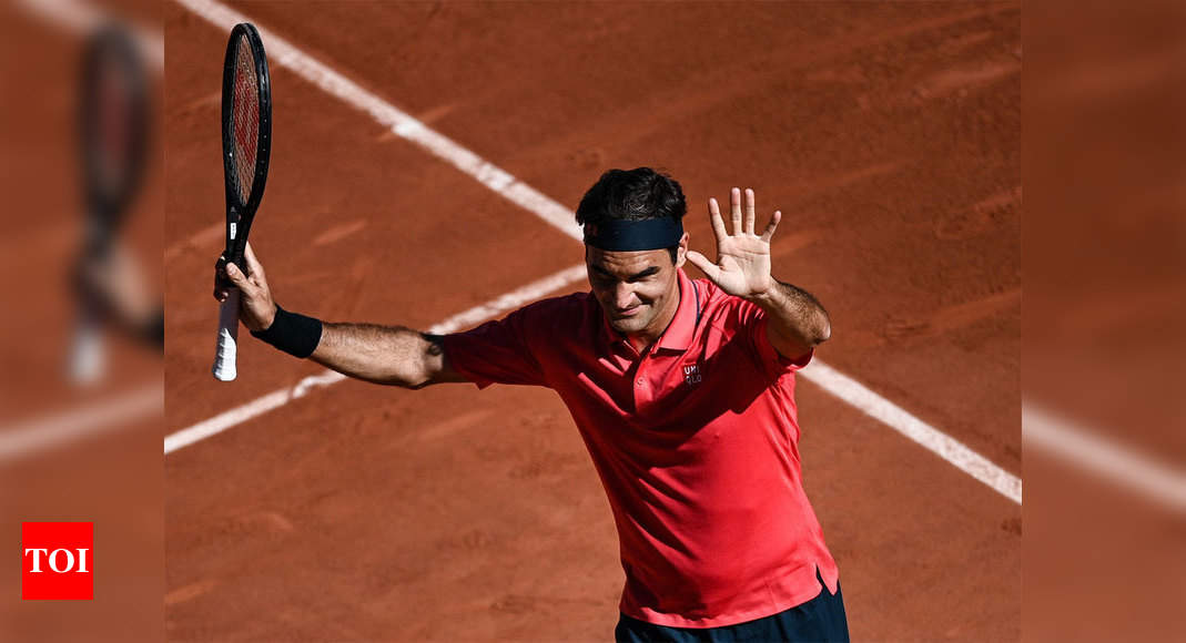Roger Federer eases into second round on French Open return | Tennis News – Times of India