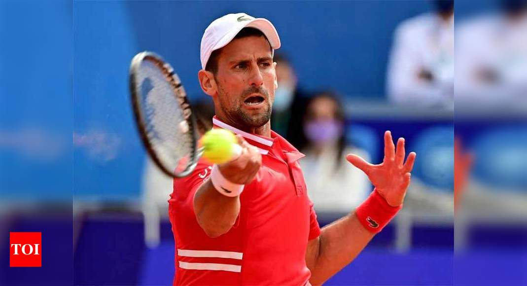 French Open's fan-free night sessions 'no fun' for Djokovic | Tennis News – Times of India