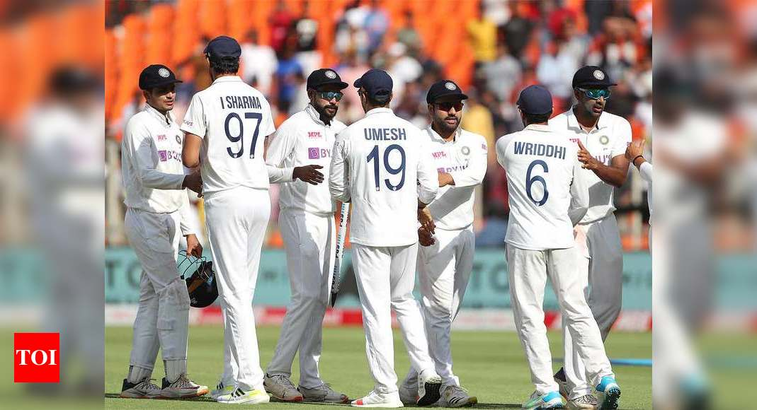 Players' families allowed for UK trip; no BCCI office-bearers for WTC final due to quarantine rules | Cricket News – Times of India