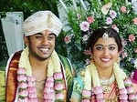 Inside pictures from Pranitha Subhash's intimate wedding ceremony