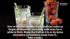 How to give a fun twist to litchis this season