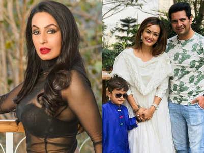 Kashmera voices concern for Karan-Nisha's son