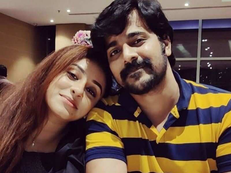 Pearle Maaney wishes 'sweet husband' Srinish Aravind on his birthday with an adorable post