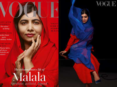 Malala Yousafzai is a cover girl now