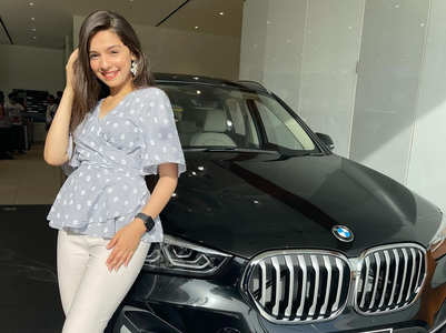 Gracy buys a luxury car on her 18th b'day