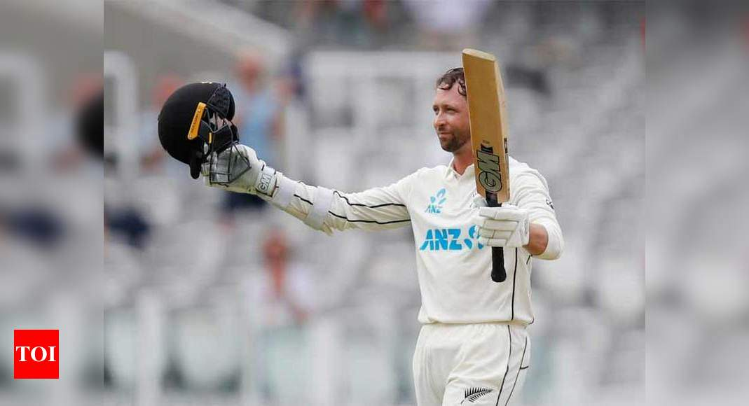 New Zealand's Devon Conway marks Test debut with Lord's hundred   Cricket News – Times of India