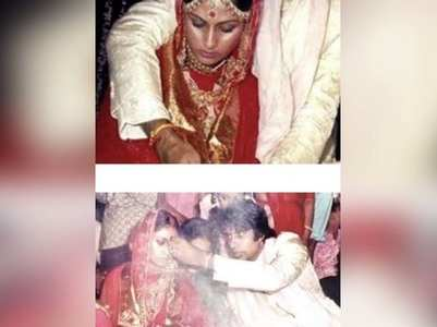 Amitabh celebrates his wedding anniversary