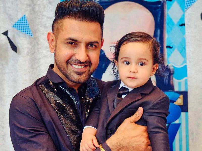Gippy Grewal shares yet another cute video of his son Gurbaaz