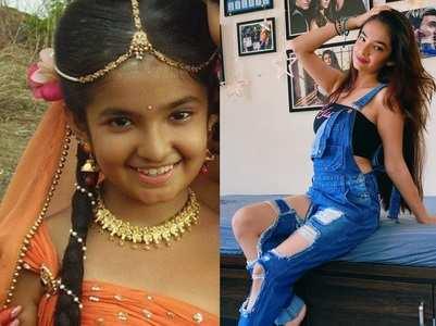Anushka Sen's style transformation in pics
