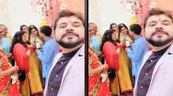 Bhojpuri actress Shikha Misha attends brother's engagement ceremony