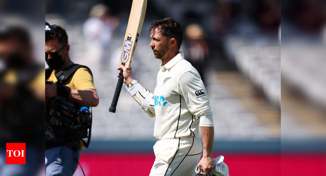 1st Test, Day 2: England trail New Zealand by 267 runs after Devon Conway notches double ton   Cricket News – Times of India