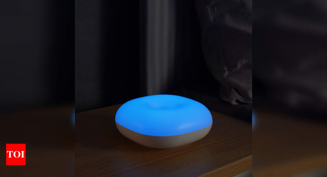 iGear launches gesture-controlled night lamp, SenseLED – Times of India