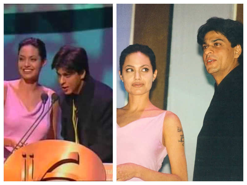 Happy Birthday, Angelina Jolie: When the Hollywood actress had her Bollywood moment with Shah Rukh Khan