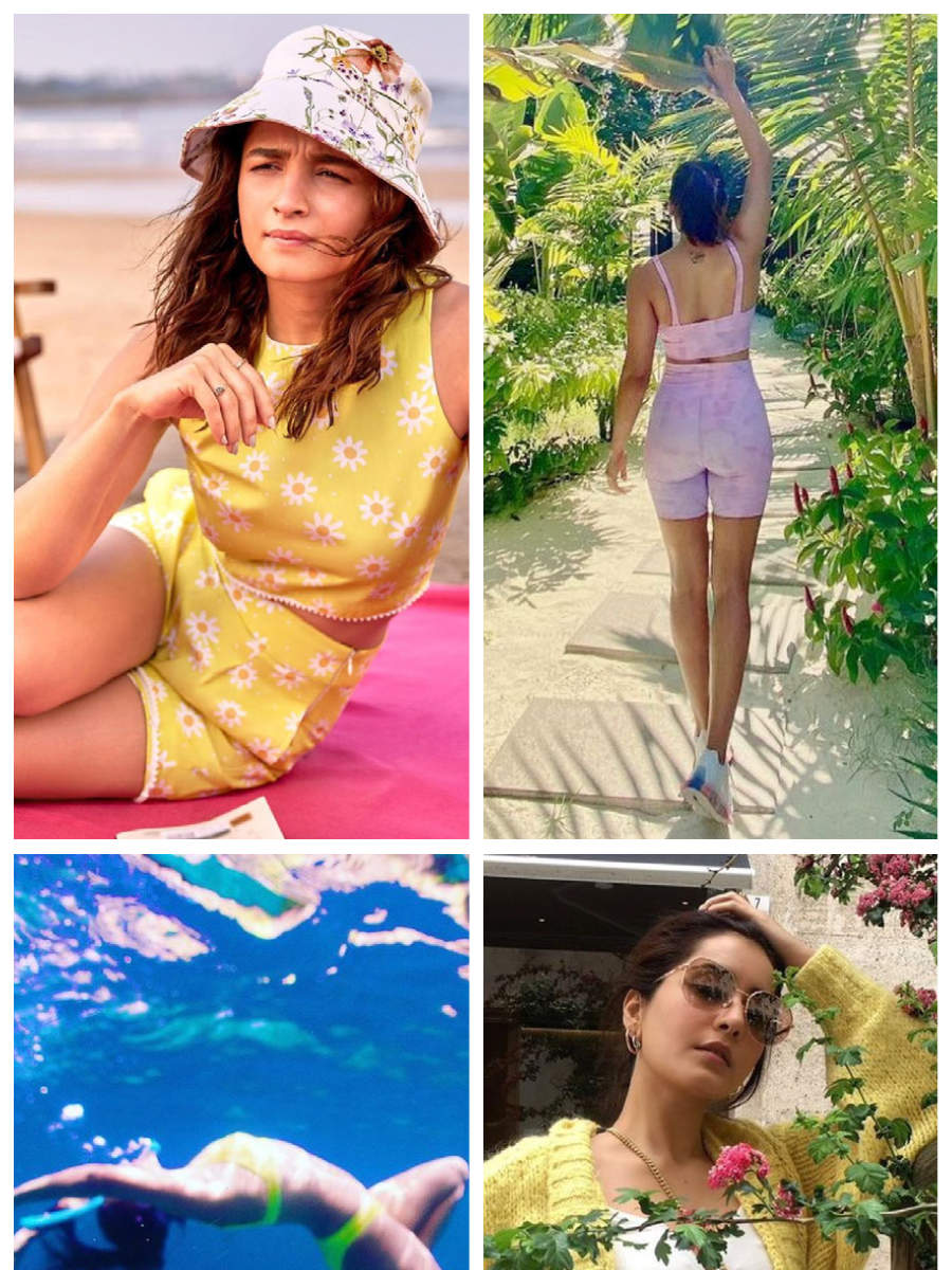 Tollywood actresses who love outdoors