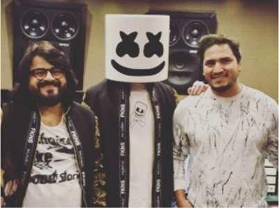 Dev Negi on collaborating with DJ Marshmello