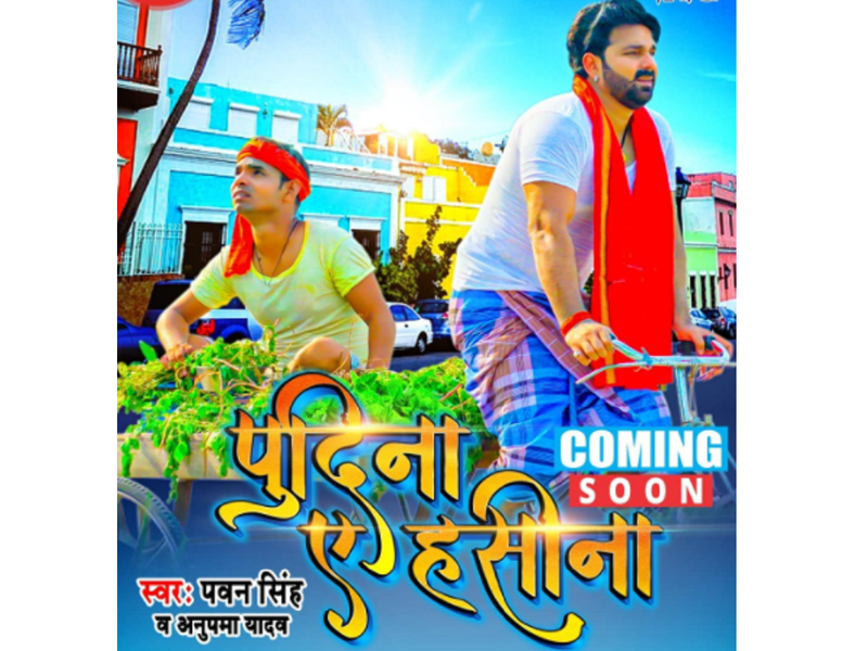 Pawan Singh to treat his fans to a new song 'Pudina Ae Hasina'