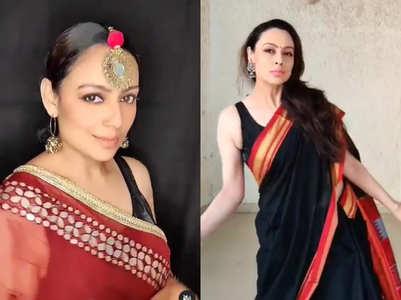 Gouri on making dance videos wearing saris