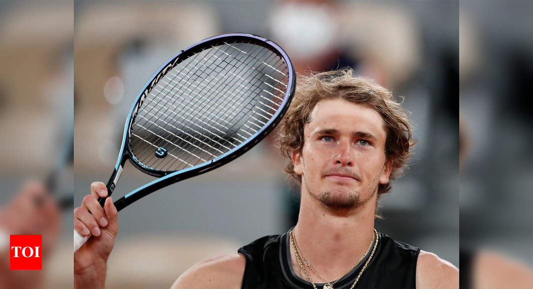 Sixth seed Alexander Zverev cruises into French Open fourth round | Tennis News – Times of India