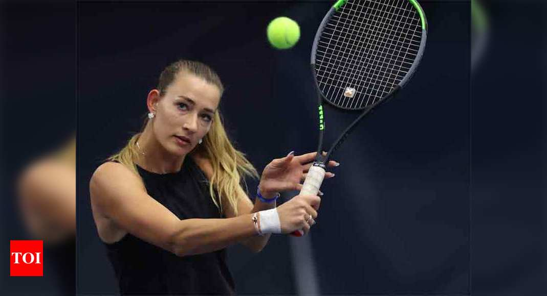 Russia's Sizikova released from police custody after match-fixing allegations   Tennis News – Times of India