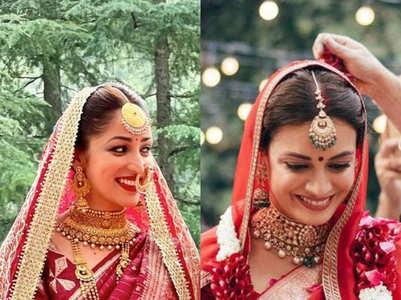 Celebs who wore saris for their wedding
