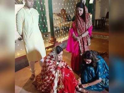 Inside pics from Yami-Aditya's private wedding