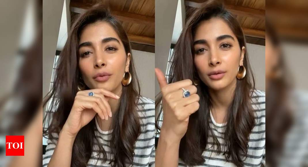 Video: Pooja Hegde says, 'strong women, never give up' and we couldn't agree more! – Times of India