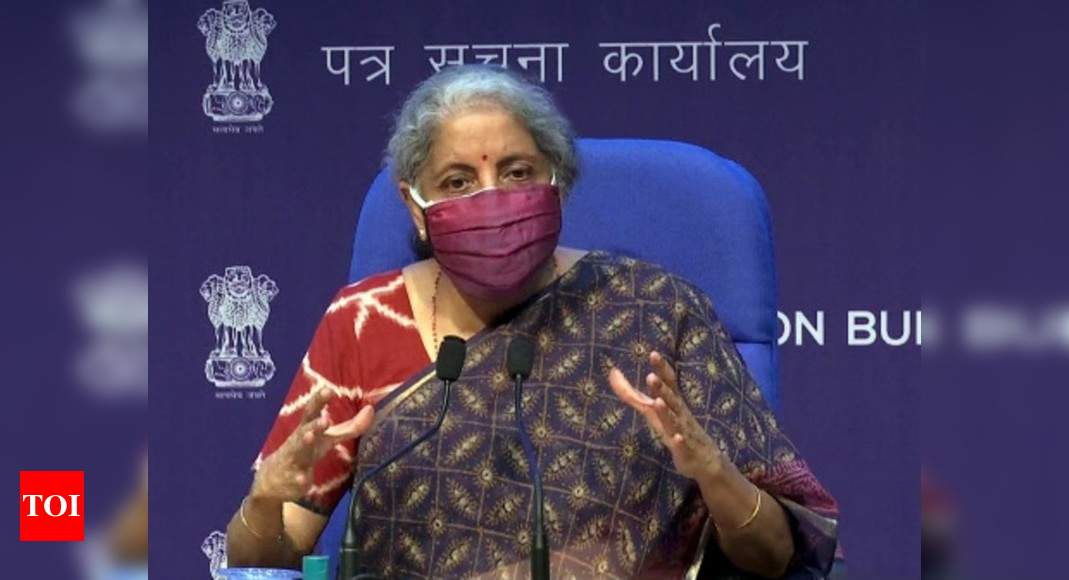 Finance minister Nirmala Sitharaman tells PSUs to front-load capex   India News – Times of India