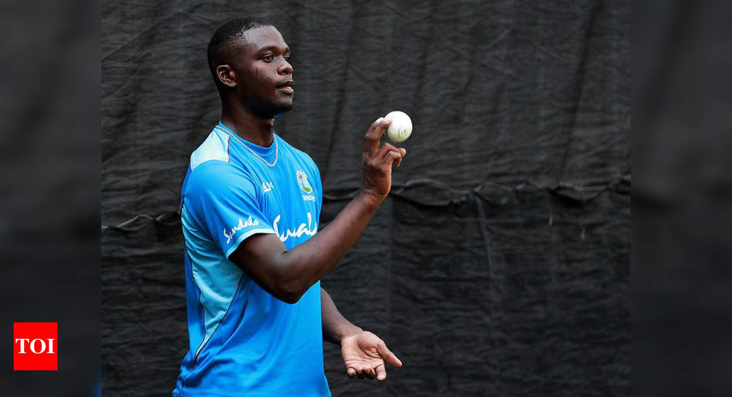 Windies name young pacer Jayden Seales in provisional squad for South Africa series | Cricket News – Times of India