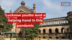 Lucknow youths lend a helping hand in this pandemic