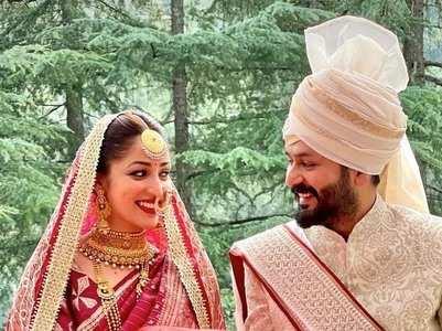 Inside pics from Yami-Aditya's wedding