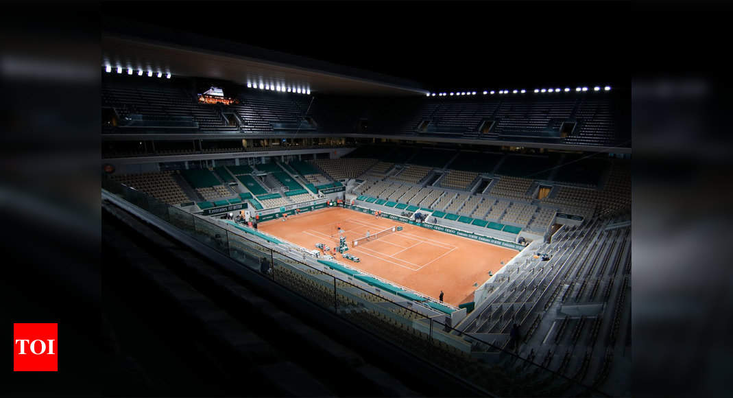 Curfew gives French Open headache over night sessions | Tennis News – Times of India