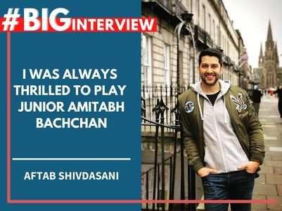 Aftab: Was thrilled to play Jr Amitabh Bachchan