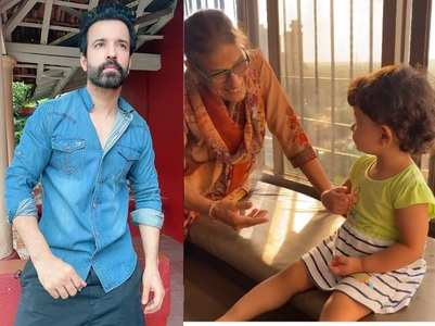 Aamir Ali shares Ayra's video with his mom