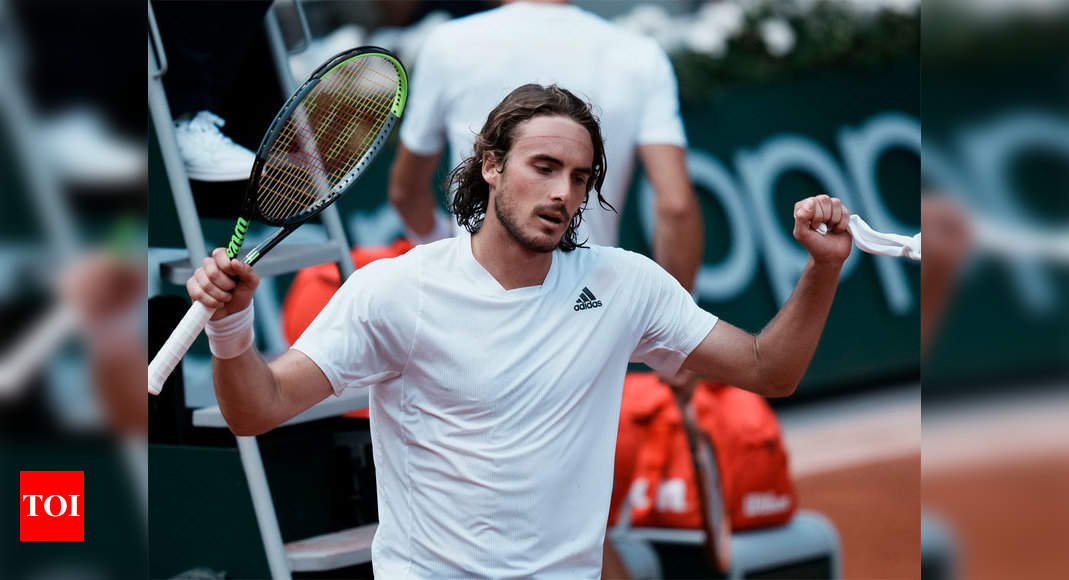 Stefanos Tsitsipas sweeps into French Open quarter-finals | Tennis News – Times of India