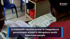 A peek into vaccination drive at Kaggalipura government school in Bengaluru South