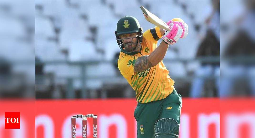 T20 leagues serious threat to international cricket: Faf du Plessis | Cricket News – Times of India