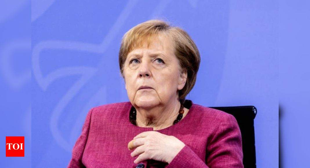 Merkel's party wins big in last German state poll before general election – Times of India