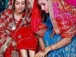 New pictures from Yami Gautam's intimate wedding ceremonies
