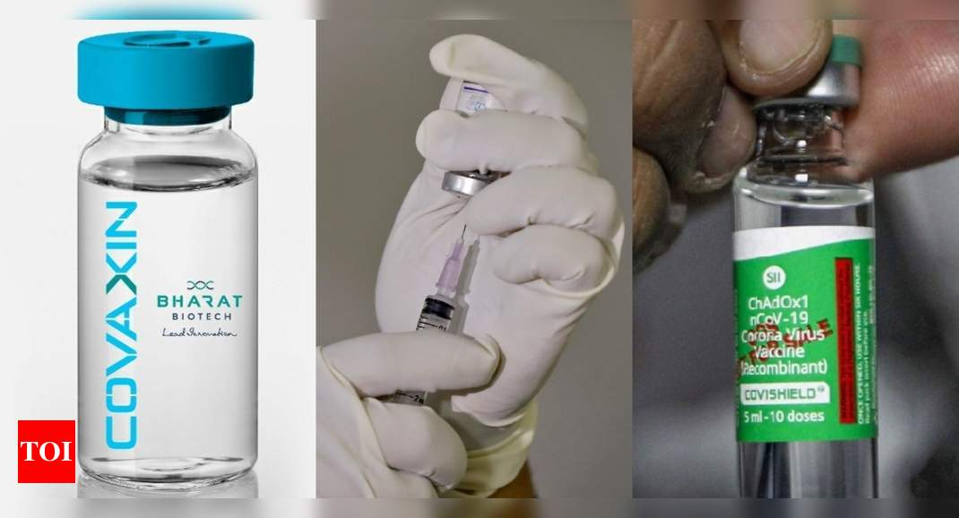 Good immune response from Covishield and Covaxin: Study   India News – Times of India