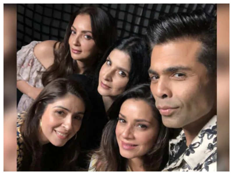Did you know Karan Johar came up with the idea for 'Fabulous Lives of Bollywood Wives' while going for a 'chautha'?