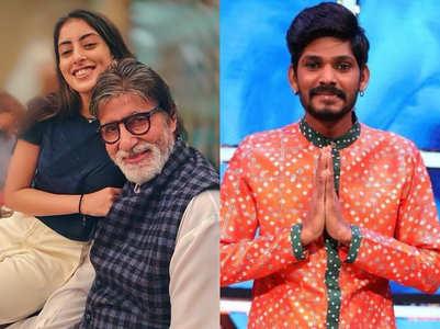 Navya Naveli cheers for Indian Idol's Sawai